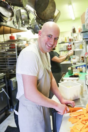 Pickled Owl Chef Evan Allees